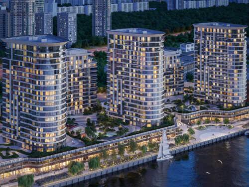 Ипотека 3,1% на квартиры с отделкой у воды Современный жилой комплекс